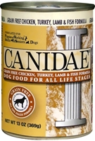 Canidae Grain-Free Canned Dog Food, Chicken Lamb & Fish, 13 oz, 12 Pack