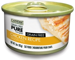 Canidae Grain-Free Pure Chicken Pate Canned Cat Food, 3 oz, 12 Pack