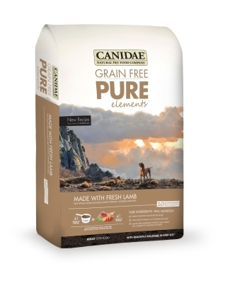Canidae Grain-Free Pure Elements Dry Dog Food, Lamb, 12 lbs