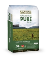 Canidae Grain-Free Pure Land Dry Dog Food, Bison, 12 lbs