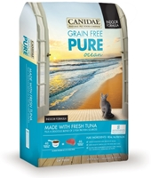 Canidae Grain-Free Pure Ocean Dry Cat Food Indoor Formula, Tuna, 8 lbs