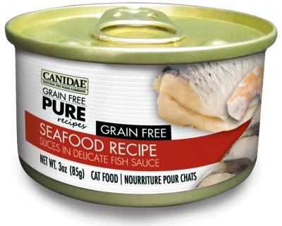 Canidae Grain-Free Pure Seafood Recipe Canned Cat Food, 3 oz, 12 Pack