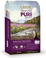 Canidae Grain-Free Pure Stream Dry Cat Food, Trout, 4 lbs