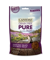 Canidae Grain-Free Pure Taste Cat Treats, Trout, 3 oz