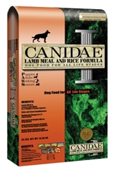 Canidae Lamb & Rice Dry Dog Food, 15 lbs