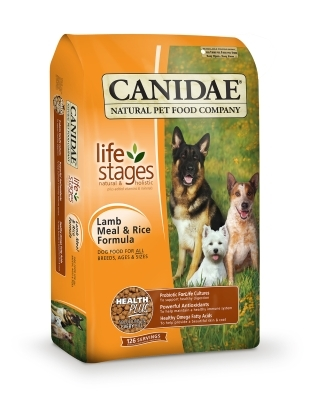 Canidae Lamb & Rice Dry Dog Food, 30 lbs