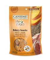 Canidae Life Stages Bakery Snack Biscuits, Lamb Rice & Sweet Potato, 14 oz