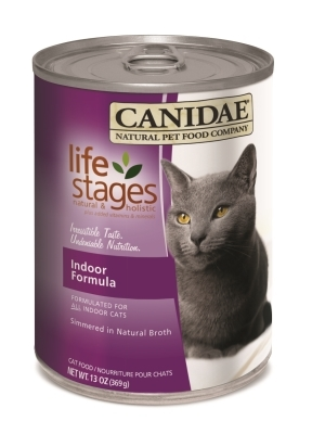 Canidae Life Stages Canned Cat Food, Indoor Formula, 13 oz, 12 Pack