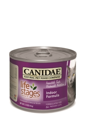 Canidae Life Stages Canned Cat Food, Indoor Formula, 5.5 oz, 12 Pack