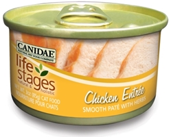 Canidae Life Stages Chicken Entree Canned Cat Food, 3 oz, 12 Pack