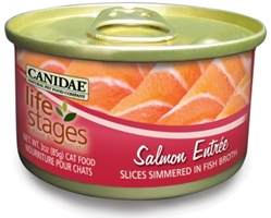 Canidae Life Stages Salmon Entree Canned Cat Food, 3 oz, 12 Pack