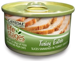 Canidae Life Stages Turkey Entree Canned Cat Food, 3 oz, 12 Pack