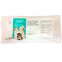 Canine Solo Jec 5 Vaccine, 1 ds w/syringe
