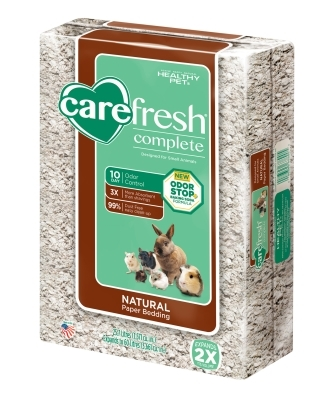CareFRESH Complete Natural Paper Bedding, 60 L