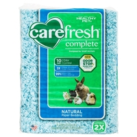 CareFRESH Complete Natural Paper Bedding, Blue, 50 L