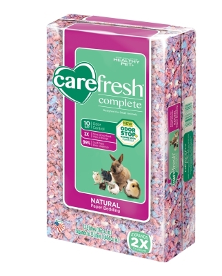 CareFRESH Complete Natural Paper Bedding, Confetti, 23 L