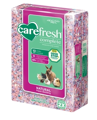 CareFRESH Complete Natural Paper Bedding, Confetti, 50 L