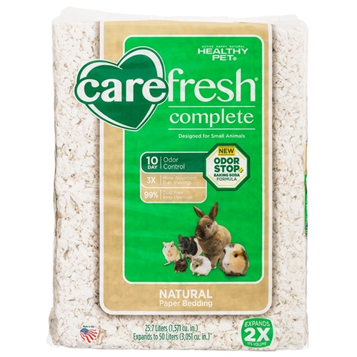 CareFRESH Complete Ultra Natural Paper Bedding, Vendor Bag, 50 L