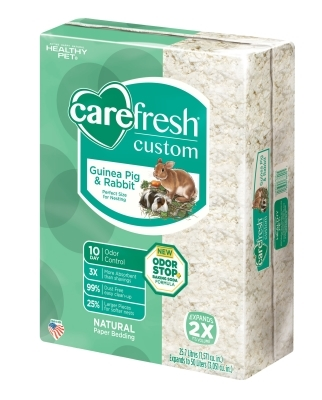 CareFRESH Custom Guinea Pig & Rabbit Natural Bedding, 50 L