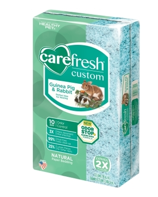 CareFRESH Custom Guinea Pig & Rabbit Natural Bedding, Blue, 23 L