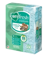 CareFRESH Custom Guinea Pig & Rabbit Natural Bedding, Blue, 50 L