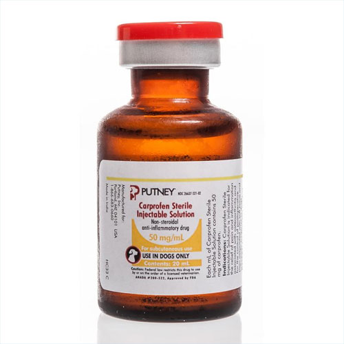 Carprofen Injection 50 Mg Ml 20 Ml Vetdepot Com