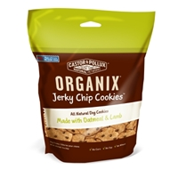 Castor & Pollux Organix Jerky Chip Cookie Dog Treats, Oatmeal & Lamb, 10 oz