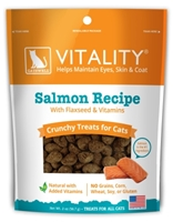 Catswell Vitality Crunchy Salmon Treats for Cats, 2 oz