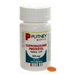 Cefpodoxime Tabs 100 mg, 100 Tablets