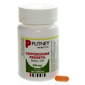 Cefpodoxime Tabs 200 mg, 100 Tablets