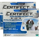 Certifect for Dogs 23-44 lbs, 12 Month (Blue)
