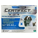 Certifect for Dogs 23-44 lbs, 3 Month (Blue)