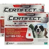 Certifect for Dogs 89-132 lbs, 6 Month (Red)