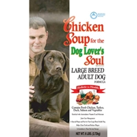 Chicken Soup Adult Large Breed Dog Formula, 6 lb - 6 Pack