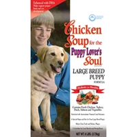 Chicken Soup Large Breed Puppy Formula Dry Food, 6 lb - 6 Pack