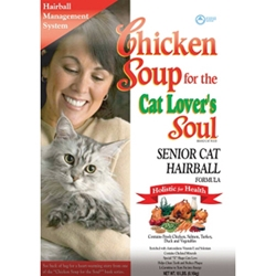 Chicken Soup Senior Cat & Hairball Formula Dry Food, 18 lb