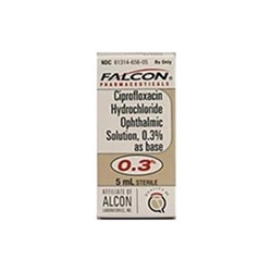 Ciprofloxacin Ophthalmic Solution 0.3%, 5 ml