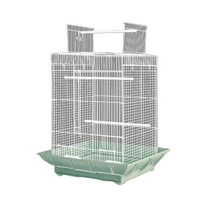"Clean Life Playtop Bird Cage, 18"" x 18"" x 27"" - 4 Pack"