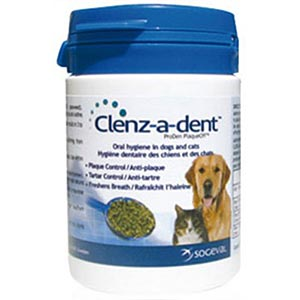 Clenz-A-Dent Food Additive PlaqueOff, 40 gm
