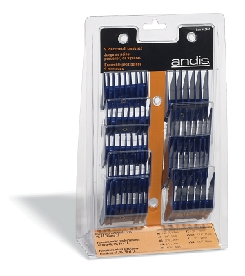 Comb Set- Small, 9 pieces