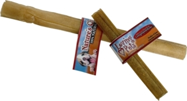 Compressed Rawhide Stick, 10 inches