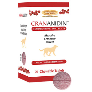 Crananidin for Dogs, 21 Chewable Tablets