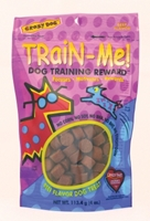 Crazy Dog Train-Me! Training Reward Dog Treats, Beef, 4 oz