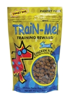 Crazy Dog Train-Me! Training Reward Dog Treats, Chicken, 1 lbs