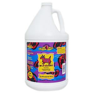 Crazy Dog Wild Cherry Shampoo, 1 gal