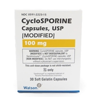 Cyclosporine (modified) 100 mg, 30 Capsules