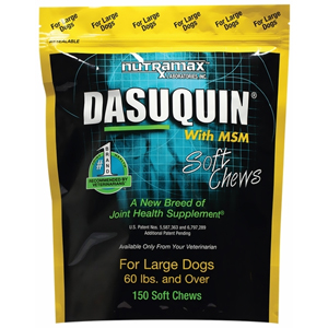 Dasuquin MSM Large Dog, 150 Soft Chews Joint Supplement