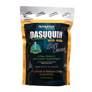 Dasuquin MSM Small/Medium Dog, 84 Soft Chews