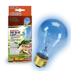 Day Blue Incandescent Bulb 100W Boxed