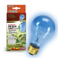 Day Blue Incandescent Bulb 75W Boxed